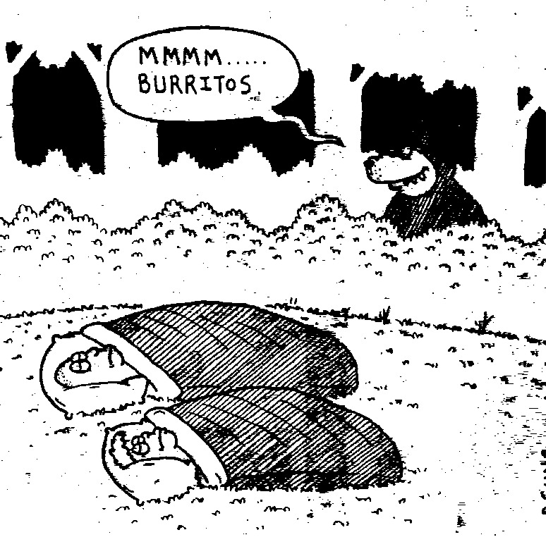 The two cartoons below illustrate why Philmont doesnu0027t allow either  meadow crashing  or bivy sacks -- everyone must be in something that looks like a tent!  sc 1 st  Sid Covington & Tents